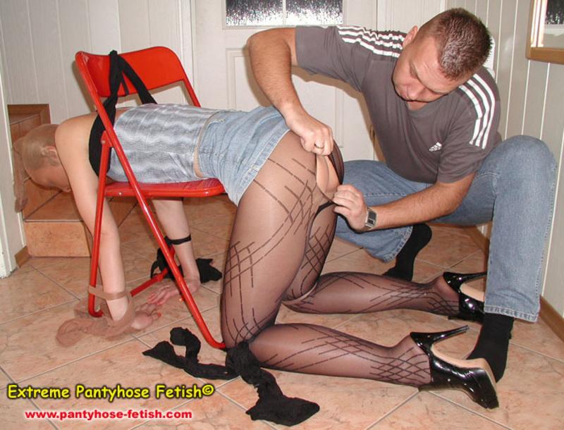 The nylon leg fetish store